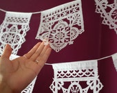 TALAVERA small fiesta papel picado banners - Ready Made