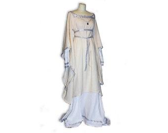 Matilda medieval wedding dress, fairy wedding dress, game of thrones, maternity wedding, medieval dress, renaissance dress, fairy tale dress