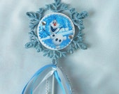 Further REDUCED -Olaf Snowflake Wand