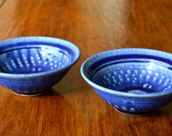 Set of 2 Handmade Stoneware  Bowls