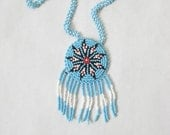 Vintage Southwestern Beaded Native Necklace