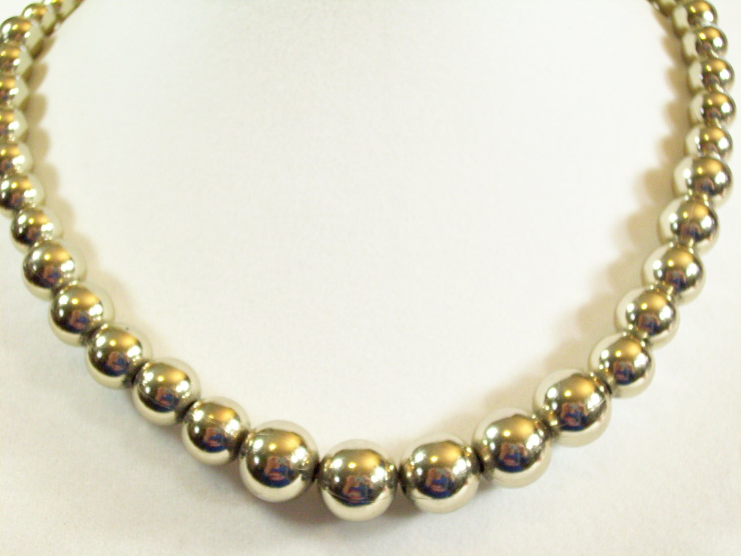 vintage 60s monet gold plated necklace chain