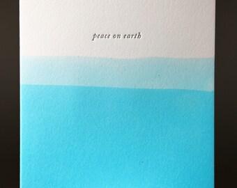 "Dip Dye ""Peace on Earth"""