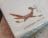 Set of 16 Decorative Roadrunner Vintage 50s envelopes New Old Stock FREE SHIPPING 111214001