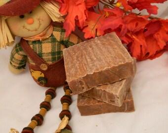 Pumpkin Roll Goats Milk Soap