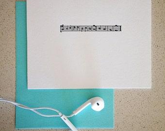 SALE! Take Note letterpress cards