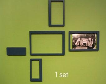 Sale! Wallter Retro Rectangles Modern Wall Decor (Set of 5) - pls read detailed description
