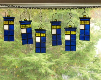 Tardis   Dr Who Stained Glass Seriously Cool Talley ho!