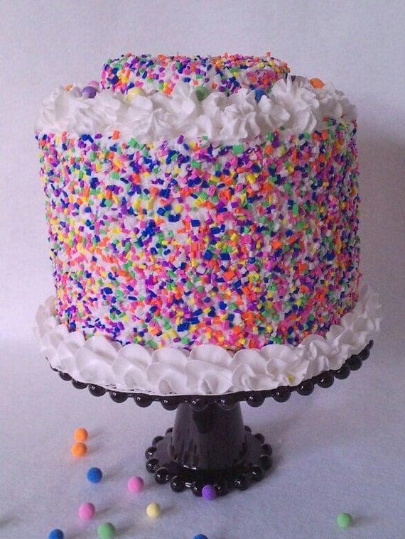 Fake Birthday Cake Prop