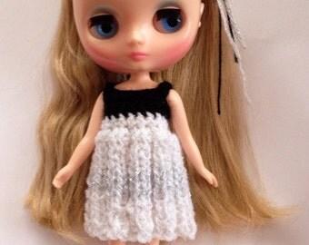 SALE - Knit dress & headband for Middie Blythe