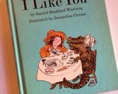I like you  vintage book