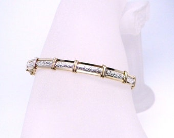 Made-To-Order Pure Elegance 14kt gold fill and sterling silver Slave Bracelet OR Anklet