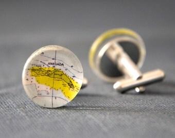 Anegada cufflinks