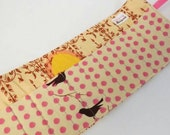 Kids crayon roll for travel, stocking stuffers, restaraunts, on the go fun!!