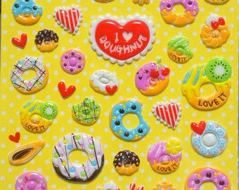 Deco Sticker  Doughnut  SB6