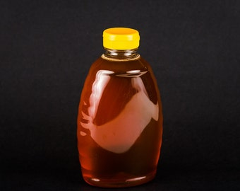 Pure, Natural, Raw, Unprocessed Honey - 1.0 pound Plastic Squeezable