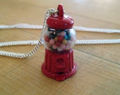 Food Jewelry - Gumball Machine Necklace