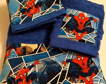 Spiderman Towel Set