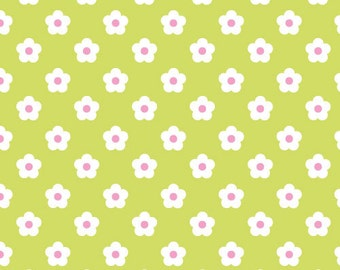 Adlico • Fawn Meadow • Daisy • Cotton Fabric 0.54yd (0.5m) 001956