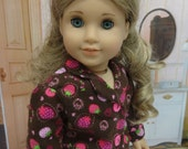 Pajamas for American Girl - Chocolate Covered Strawberries