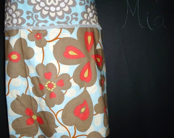 Pencil SKIRT - Amy Butler - Morning Glory - Made in ANY Size - Boutique Mia
