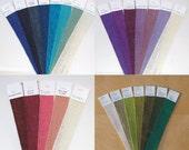 INDIVIDUAL SAMPLES - Edge Stitched Ribbon Samples
