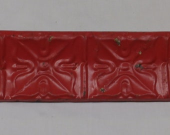 3 Ft Repurposed Antique Tin Ceiling Wall Shelf / Ledge Mantle Shabby Recycled Chic 2493-15