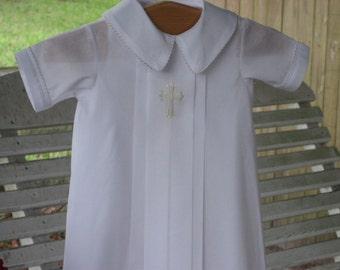 Swiss Batiste Christening Gown for Boy or Girl