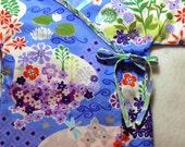 Baby Kimono Top in Good Fortune Pond -  The Original LivvySue Kimono - sizes 0-6 mth to 2T