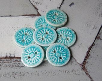 porcelain button