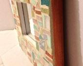 """Mosaic Mirror 8""""x8"""""""