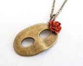 Mystery Girl - Mask Necklace - Masquerade