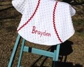 Handmade Baseball Lovie with free monogram