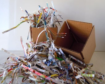 2 lbs Eco Friendly Shredded Paper Box Filler Packing Material Paper Shred Recycled Cushioning Materials Packing Paper