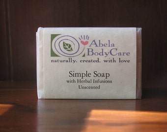 Simple Soap Natural Homestead Soap with Organic Herbs