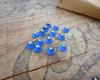 Rhinestone Vintage Small 4mm Glass Rhinestone Set with Crystal (15)