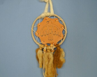 Eagle Totem Wall Hanging, Eagle Shield Dream Catcher