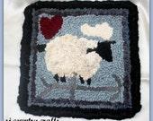 HOOKED SHEEP MAT