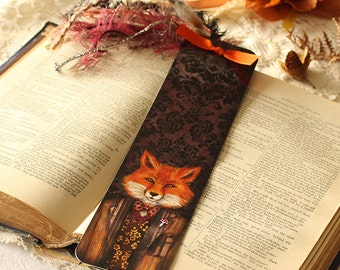 Bookmark - Portrait of the Mysterious Lord Fox