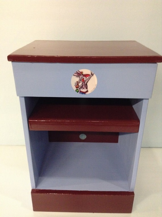 Kids bookcase, night stand, charging station, furniture