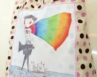 Tote bag / Shopping Bag / Tote bag with illustration