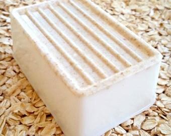 GREEN APPLE Handmade Three Butter Soap One Bar 6.5 oz Free Shipping