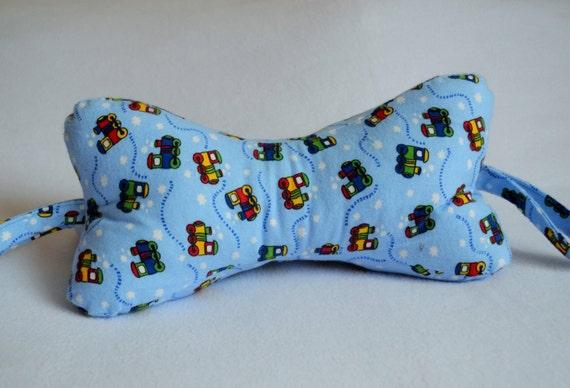 Items Similar To Dog Bone Neck Pillow Choo Choo Train
