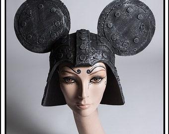 Evil Lord… Darth Minnie Helmet in Distressed Metal Headdress