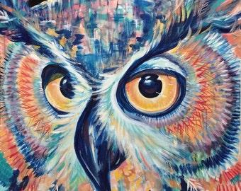 Halloween Surprise Sale Draco Owl 30x30