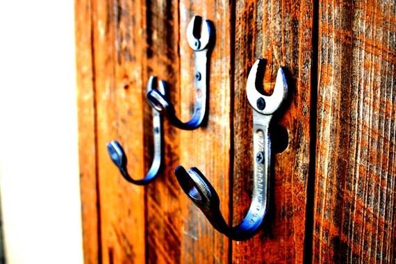 3 Wrench Hook Set - Custom  Wall Hooks