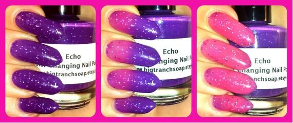 Color Changing Thermal Nail Polish - \