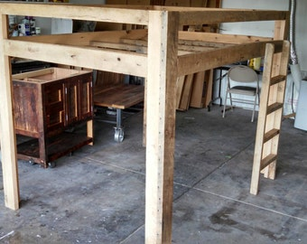 YOUR Made to Order Barn Wood Loft Bed with FREE SHIPPING - BWLB675F