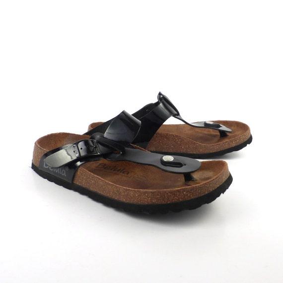 birkenstock sandals betula patent size 38 by. Black Bedroom Furniture Sets. Home Design Ideas