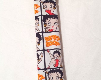 Seat Belt Cover/Sleeve -  Betty Boop Print